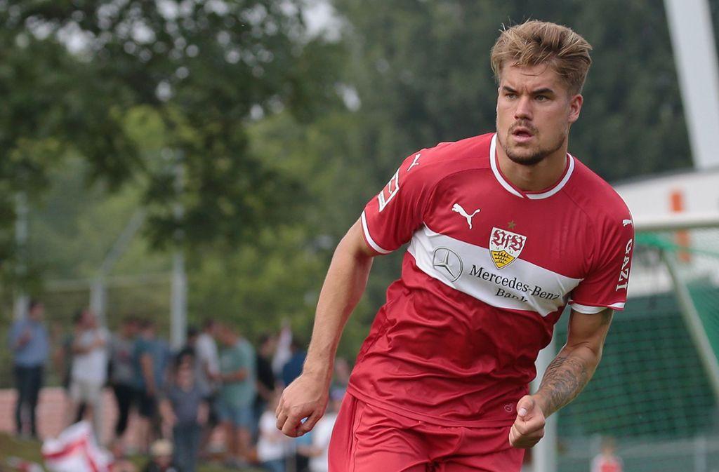 Muss mehrere Monate pausieren: VfB-Torhüter Alexander Meyer Foto: Baumann