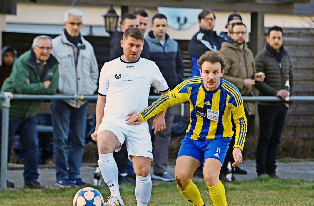 In der  nächsten  Saison spielen die Heimsheimer Fußballer auf Kunstrasen. Foto: Andreas Gorr