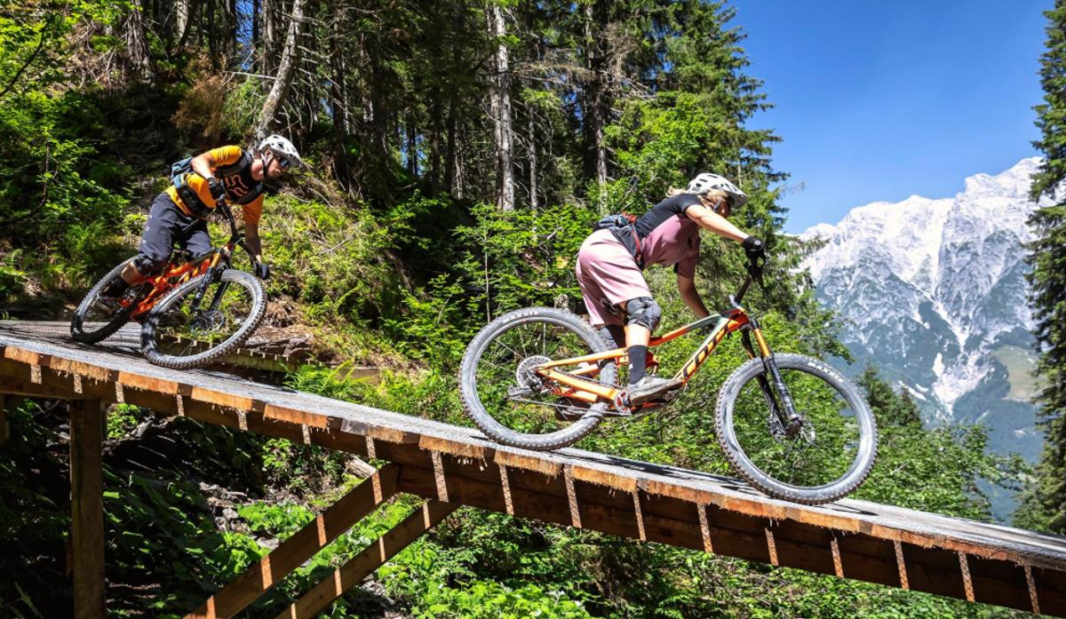 Neues Bikerparadies in Österreich: Die Bike-Regionen Saalbach, Leogang und ...  Foto: The Epic Bikepark Leogang
