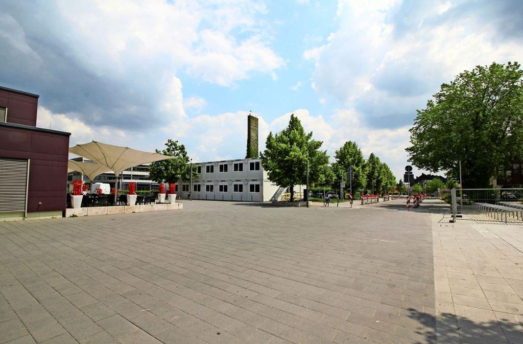 Containerlösungen wie hier an der Realschule in Nellingen werden in den kommenden Jahren noch öfter in Ostfildern zum Einsatz kommen. Foto: Stadt Ostfildern