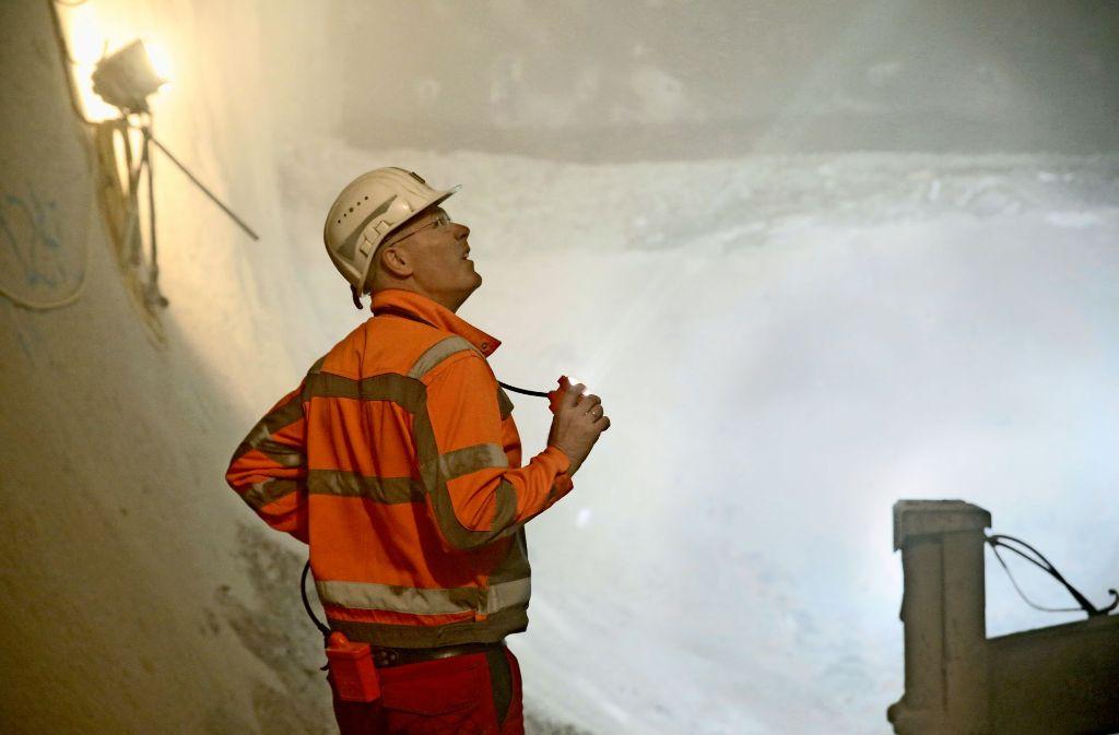 """""""Wir kommen dorthin, wo noch keiner war"""": Tunnelbauer Georg Hofer. Foto: Siri Warrlich"""