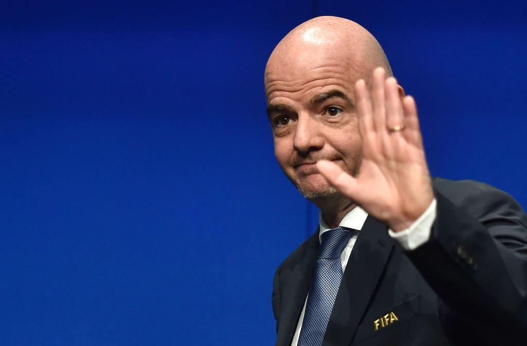 Gianni Infantino reformiert die Klub-WM. Foto: AFP