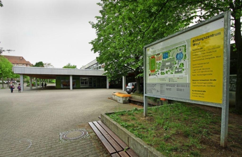 Dicke Luft im Bildungszentrum West:  PCB und Formaldehyd machen  Schülern und Lehrern zu schaffen. Foto: factum/Bach