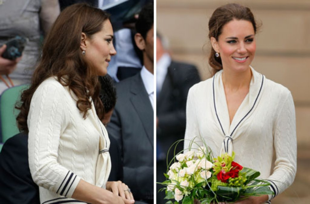 Auch Prinzesinnen haben einen endlichen Kleiderschrank: Wie Herzogin Kate greifen auch viele ihrer royalen Kolleginnen öfters zum gleichen Outfit. Foto: dapd