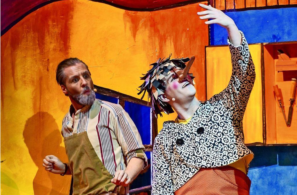 "Das Theater Liberi präsentiert ""Pinocchio"" als modernes Musical. Foto: factum/Bach"