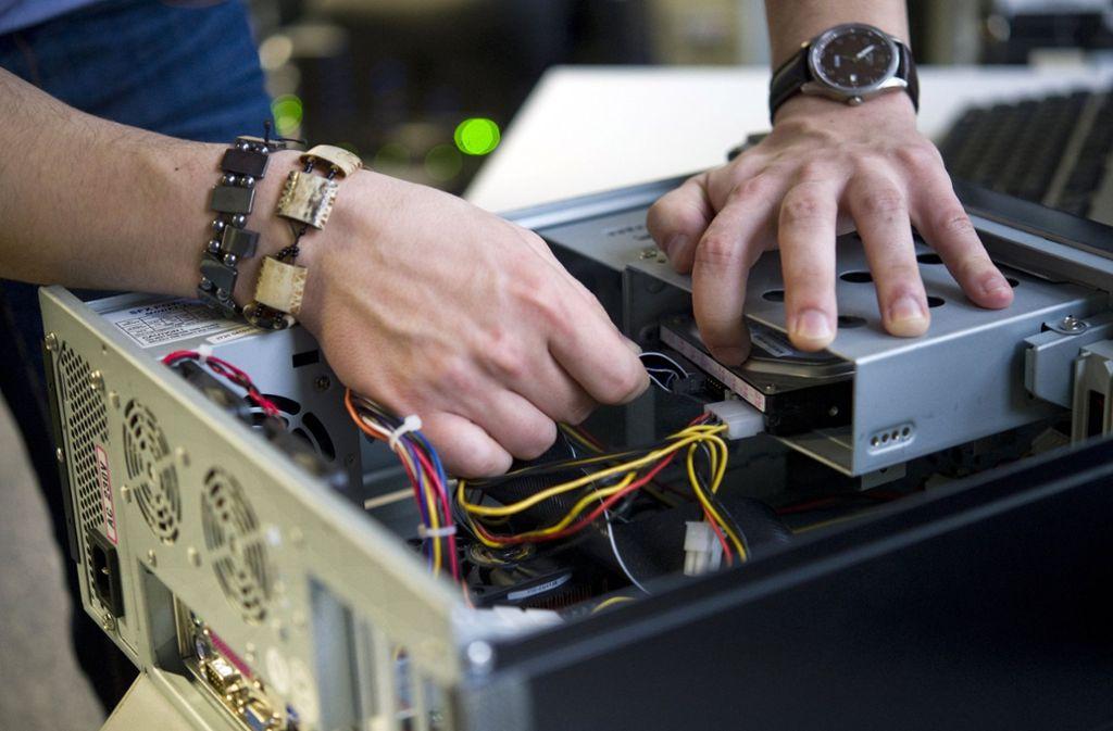 Der IT-Dienstleister Bechtle kann auf ein gutes Geschäftsjahr zurückblicken. (Symbolbild) Foto: dpa-tmn