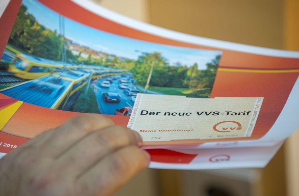Auch wegen der Tarifreform vermeldet der VVS einen neuen Fahrgastrekord. Foto: Lichtgut/Leif-Hendrik Piechowski