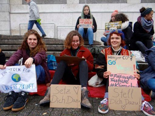 Wir streiken für das Klima!