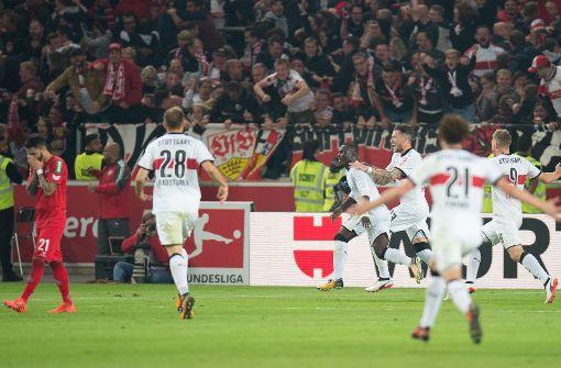 Akolo schießt den VfB Stuttgart zum Sieg