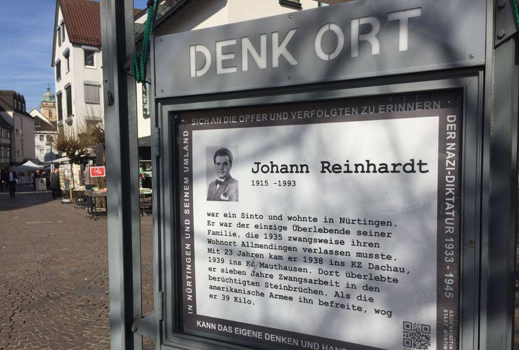 Der Sinto Johann Reinhardt zog nach dem Krieg nach Nürtingen. Foto: privat