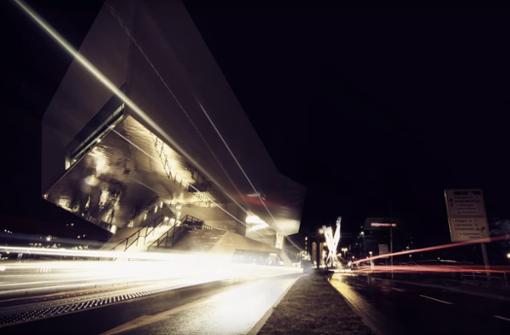 Spannende Fotografie am Porscheplatz