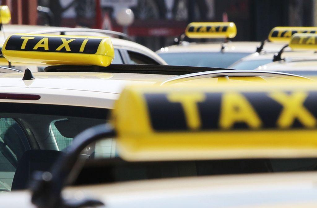 Stuttgarter Taxis waren über Wochen im Visier von Trickdieben und Aufbrechern. Foto: dpa