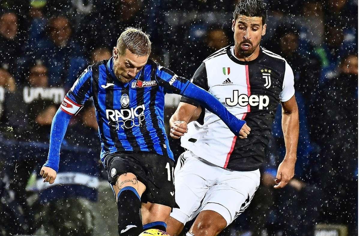 Sami Khedira will Juventus Turin offenbar verlassen. Foto: dpa/Gianluca Checchi