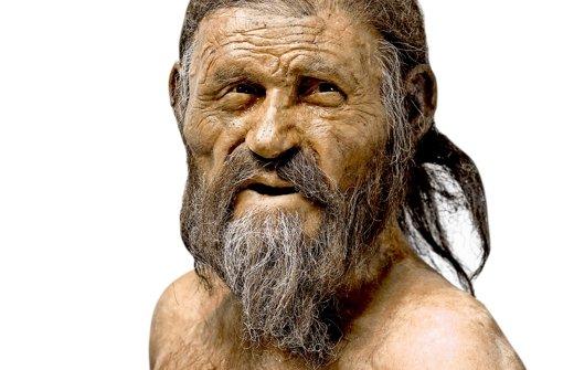 So könnte Ötzi ausgesehen haben Foto: