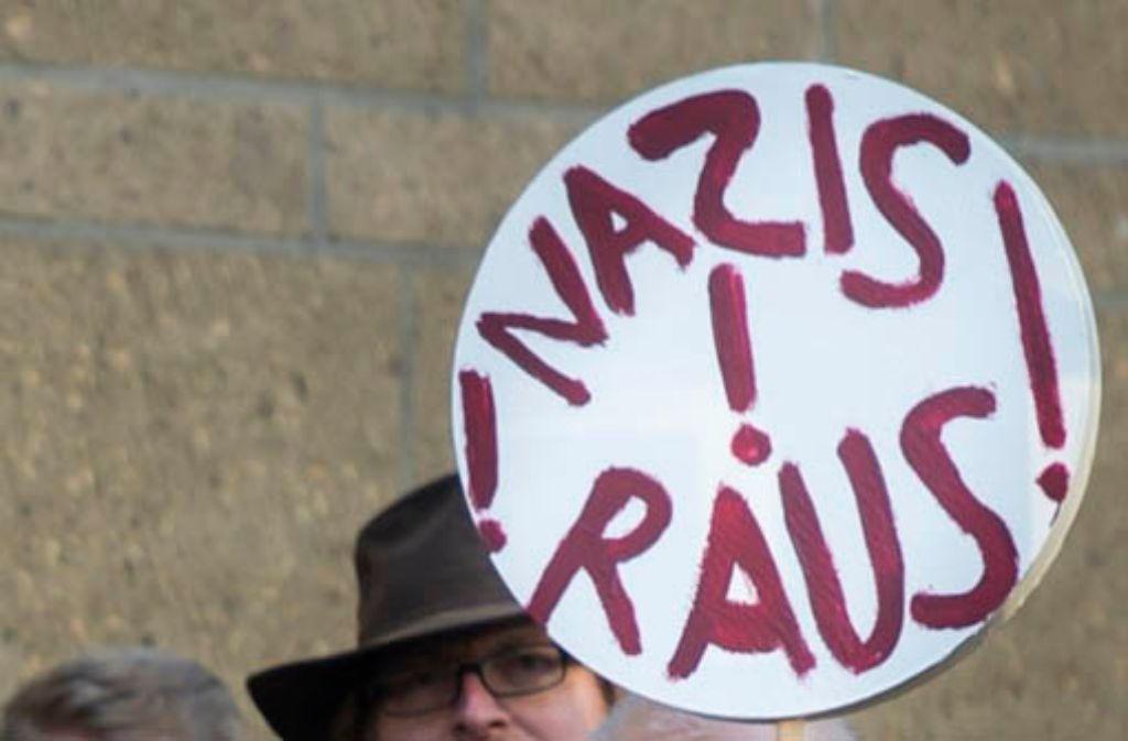 In Rottenburg haben Menschen gegen Rechts demonstriert (Symbolbild). Foto: dpa