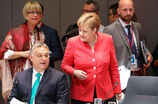 Europa demonstriert Entschlossenheit