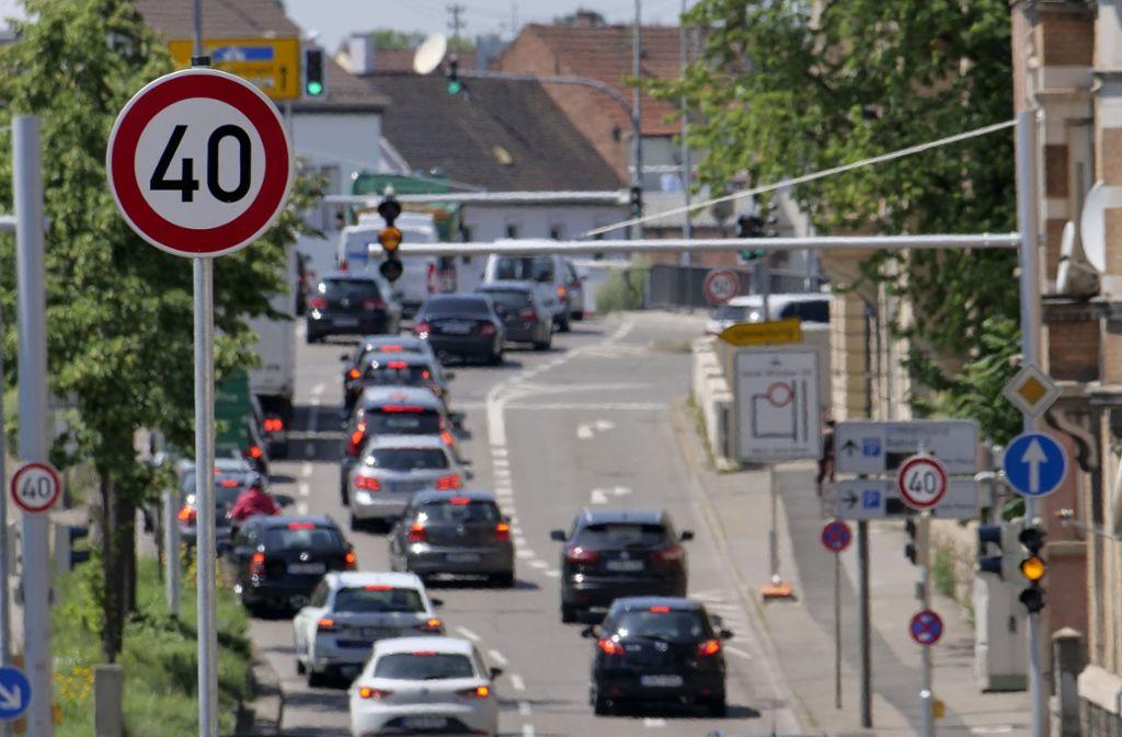 Wie hier in Ludwigsburg soll auch künftig in Backnang Tempo 40 gelten. Foto: factum/Weise/Andreas Weise/factum