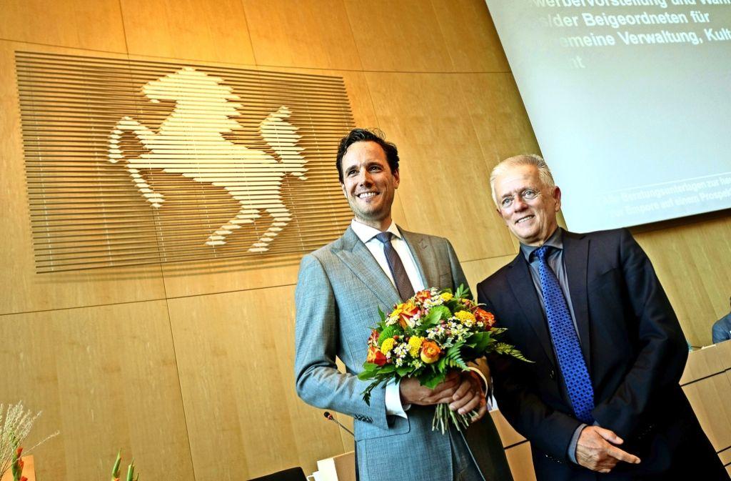 Fabian Mayer ist bald Bürgermeister für Verwaltung, Kultur und Recht. Foto: Lg/Leif Piechowski