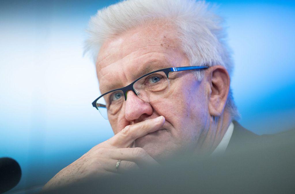 Ministerpräsident Winfried Kretschmann hat sich zum Fall einer mutmaßlichen Gruppenverwaltigung in Freiburg geäußert. Foto: dpa