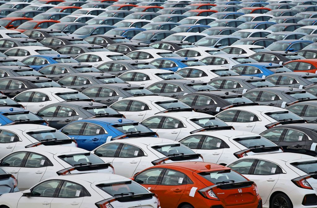 Der industrielle Rückgang  geht auch auf die Probleme der Autobauer zurück. Foto: dpa