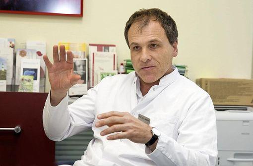 Michael Geißler ist gegen  Schulschließungen