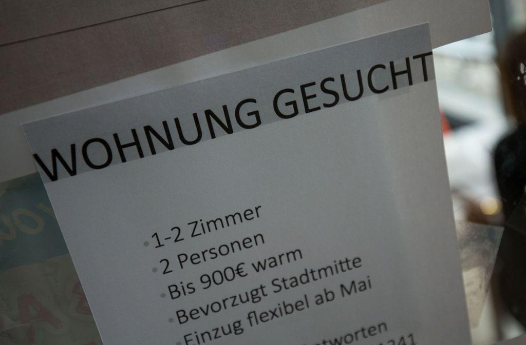 In Stuttgart sind Mietwohnungen ein rares Gut. Foto: Lichtgut