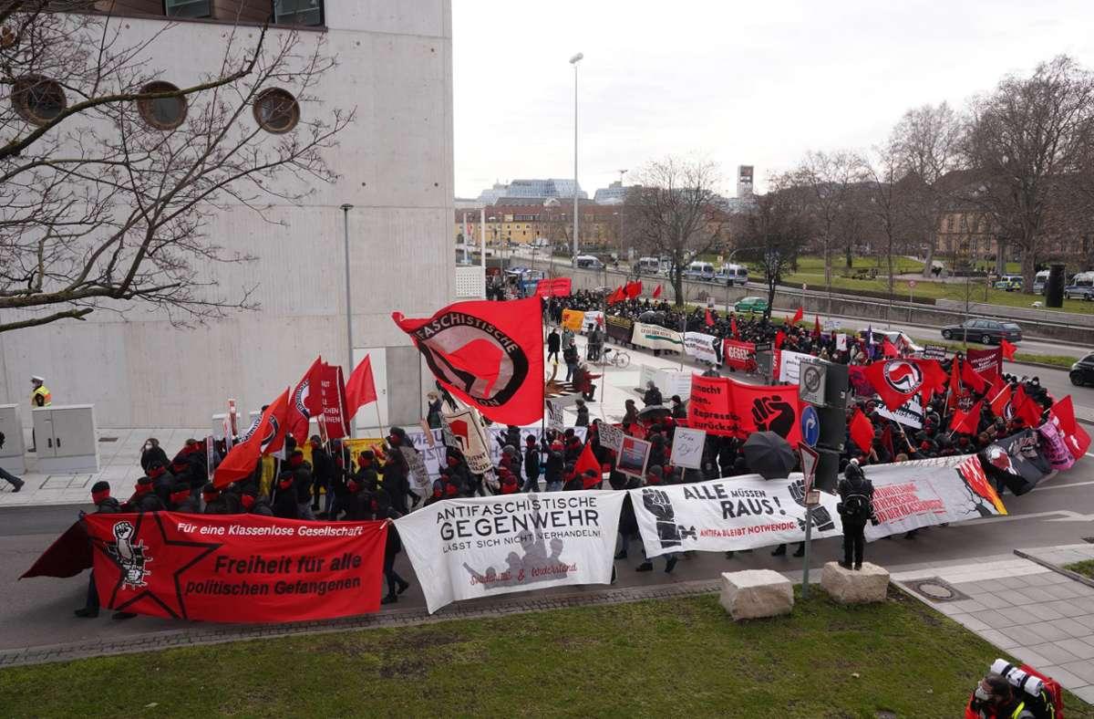 Laut dem Ordnungsamt kam es bei der Demo am vergangenen Samstag nicht zu Verstößen gegen die Coronaregeln. Foto: Andreas Rosar (Archiv)