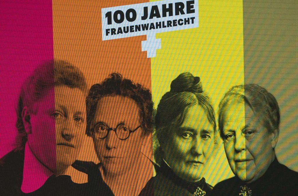 Elisabeth Selbert, Marie Juchacz, Helene Lange und Helene Weber sind nur einige der vielen Wegbereiterinnen und Verfechterinnen von Frauenpolitik. Foto: dpa
