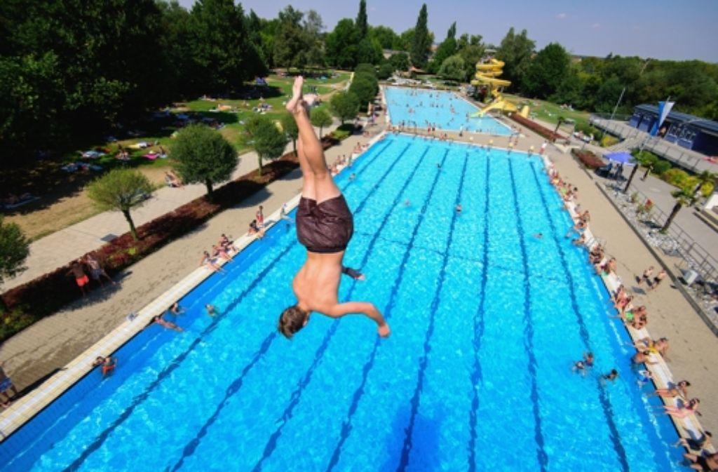 In Kitzingen wurde am 5. und am 7. August mit 40,3 Grad der Hitzerekord in Deutschland gemessen. Foto: dpa
