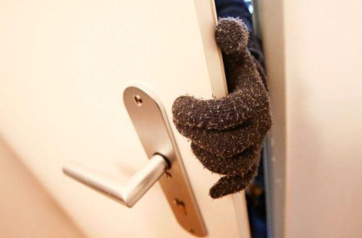 Kamen die Einbrecher mit einem Schlüssel ins Haus?