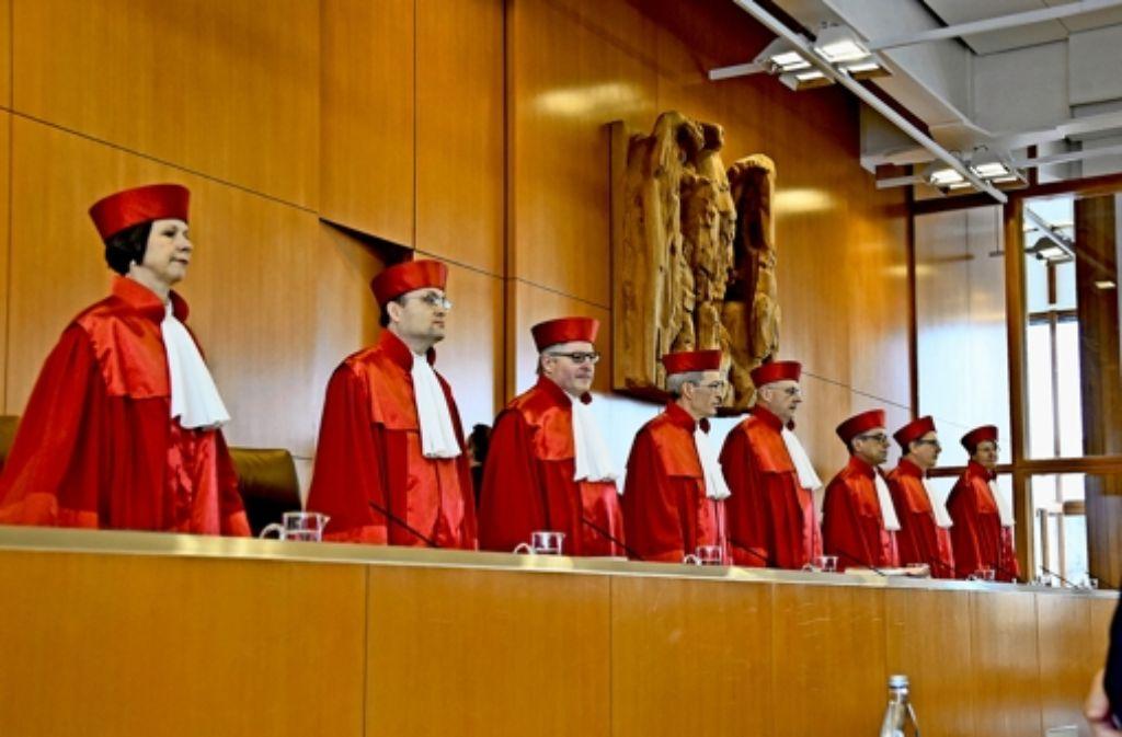 Der Erste Senat des Bundesverfassungsgerichts muss klären, ob der Atomausstieg zum Schadenersatz verpflichtet. Foto: dpa