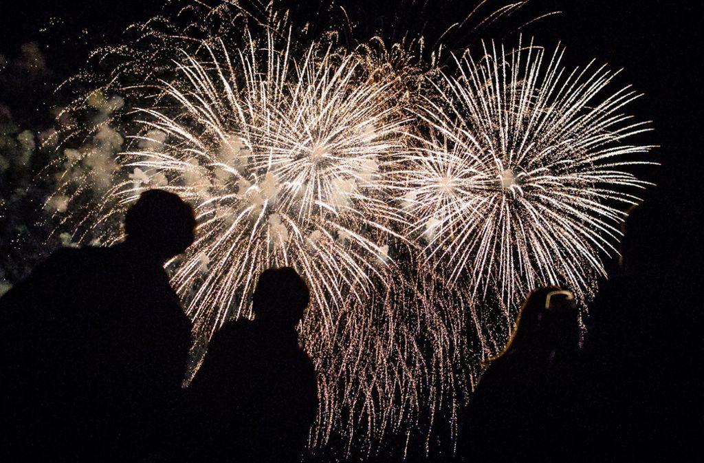 Ein Feuerwerk am nächtlichen Himmel – das könnte bald nicht mehr in allen Städten Deutschlands zu sehen sein. (Symbolbild) Foto: dpa/Christoph Schmidt