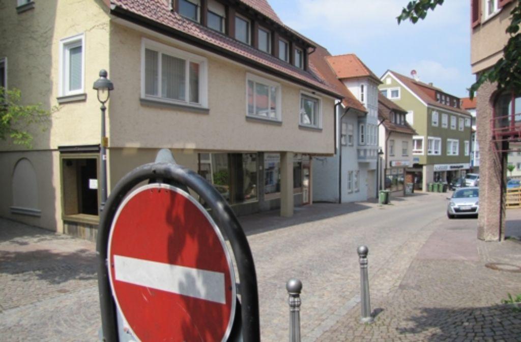 Einkaufen in Waldenbuch soll wieder attraktiver werden: Die Marktforscher empfehlen als  Maßnahme gegen das Ladensterben, die   Strukturen zu modernis Foto: Claudia Barner