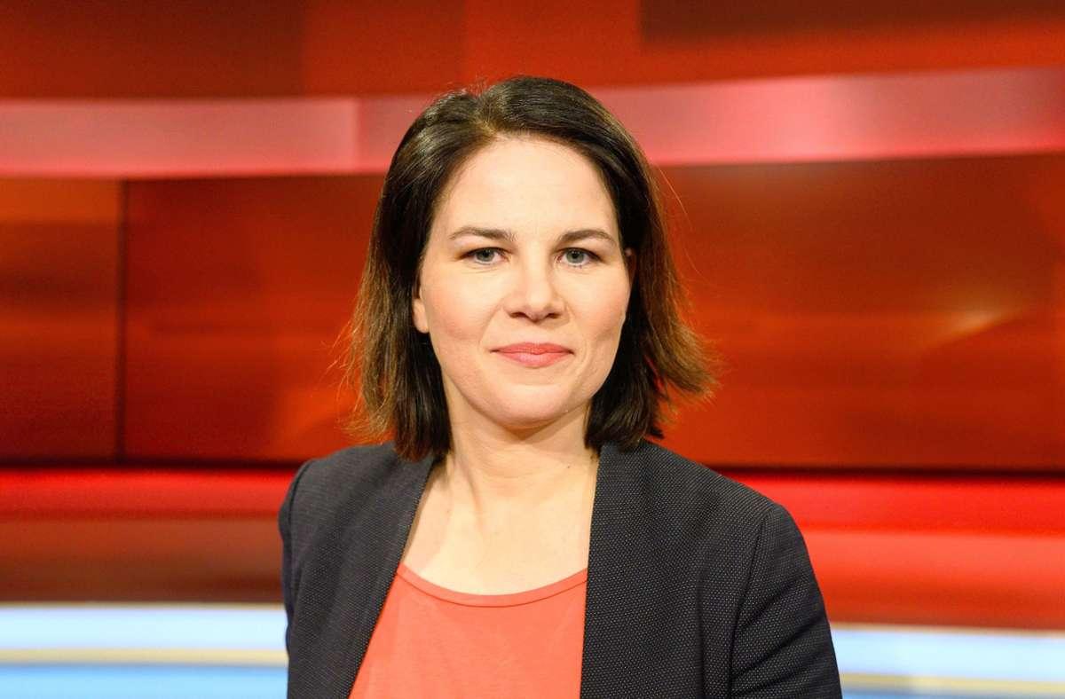 Sie ist die größte Gefahr für den Machtanspruch der CDU: Grünen-Chefin Annalena Baerbock. Foto: PublicAd/Uwe Koch
