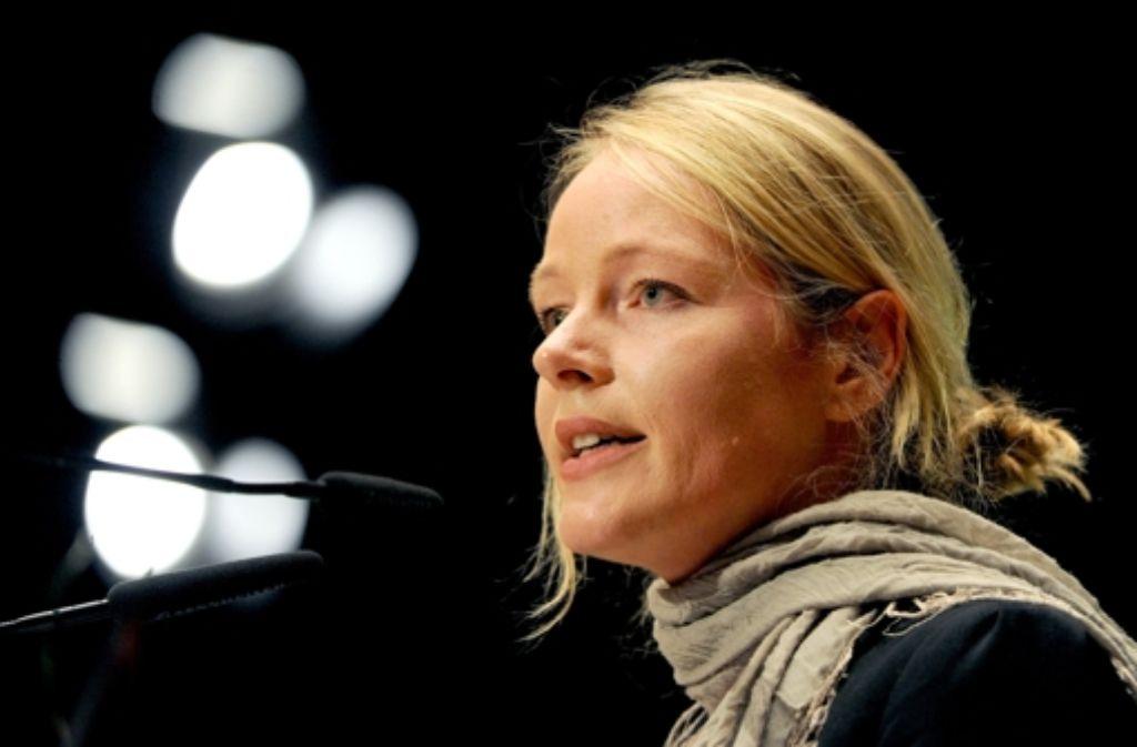 Die Dozentin für Naturpädagogik Thekla Walker würde zum ersten Mal in den Landtag einziehen. Foto: dpa