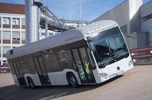 Daimler geht mit vollelektrischem Stadtbus in Serie
