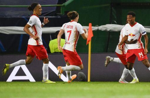 RB Leipzig entzaubert Atlético Madrid und steht im Halbfinale