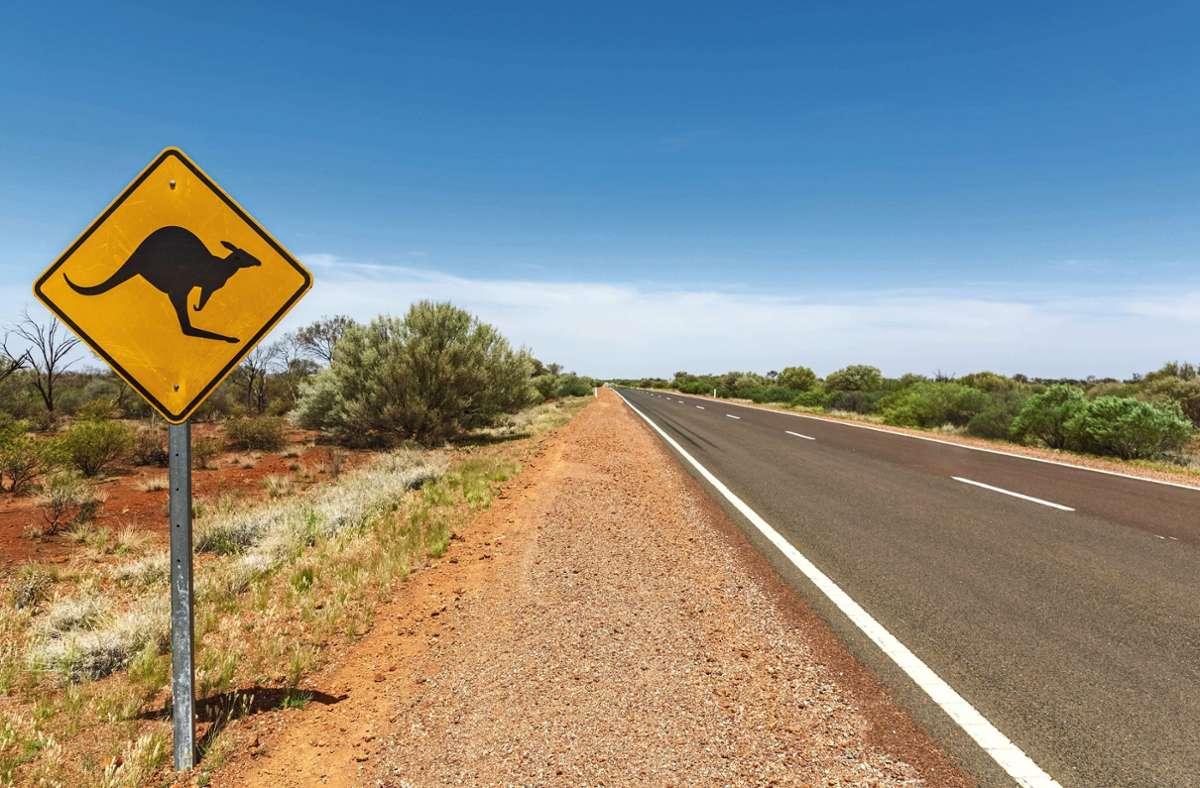 Australien ist bekannt für Kängurus und Koalas, nun haben einige Menschen ihrem Land einen ideellen Schaden zugefügt. Foto: imago/Westend61