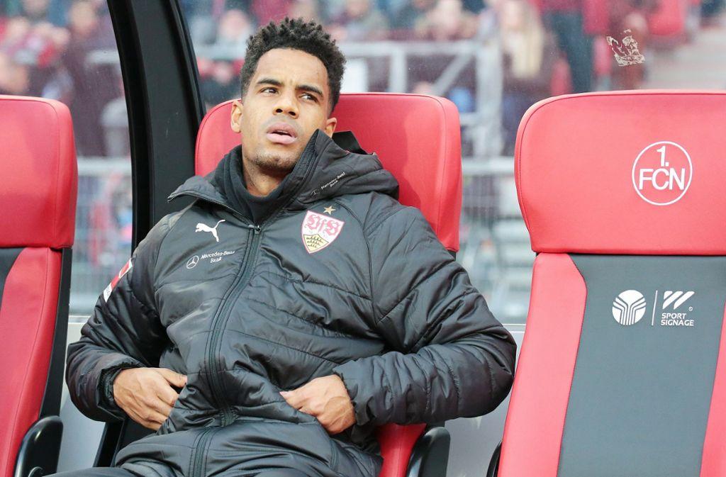 In Nürnberg saß der VfB-Mittelfeldspieler Daniel Didavi bereits auf der Bank. Reicht es nun für einen Einsatz am nächsten Freitag in Leverkusen? Foto: Baumann