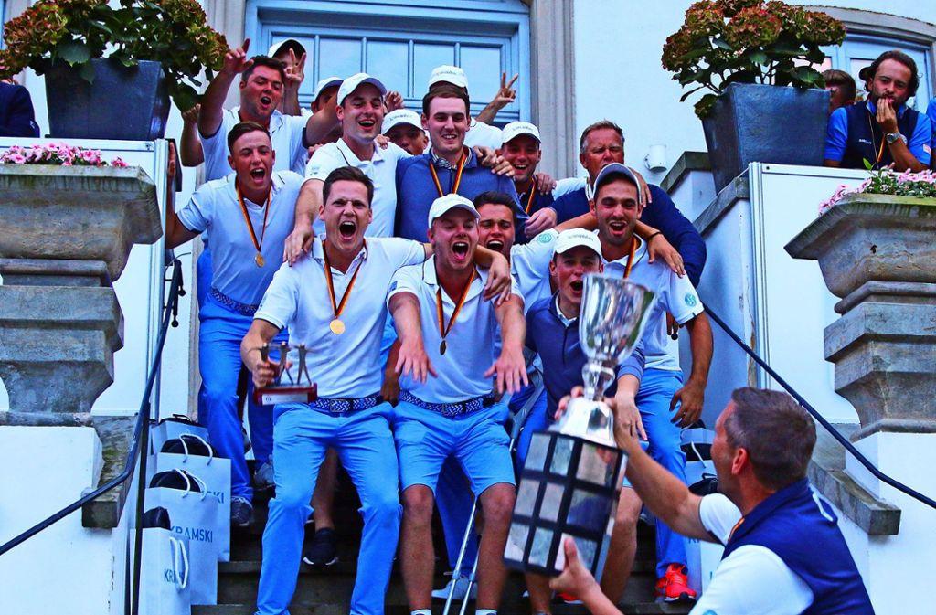 In der vergangenen   Saison   feierte das Stuttgarter  Team   den  Titelgewinn Foto: STEBL/PRESSEATELIER.DE