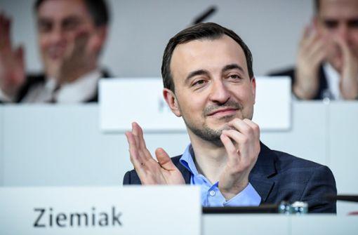 Ziemiak räumt PR-Mängel bei umstrittener CDU-Reaktion ein