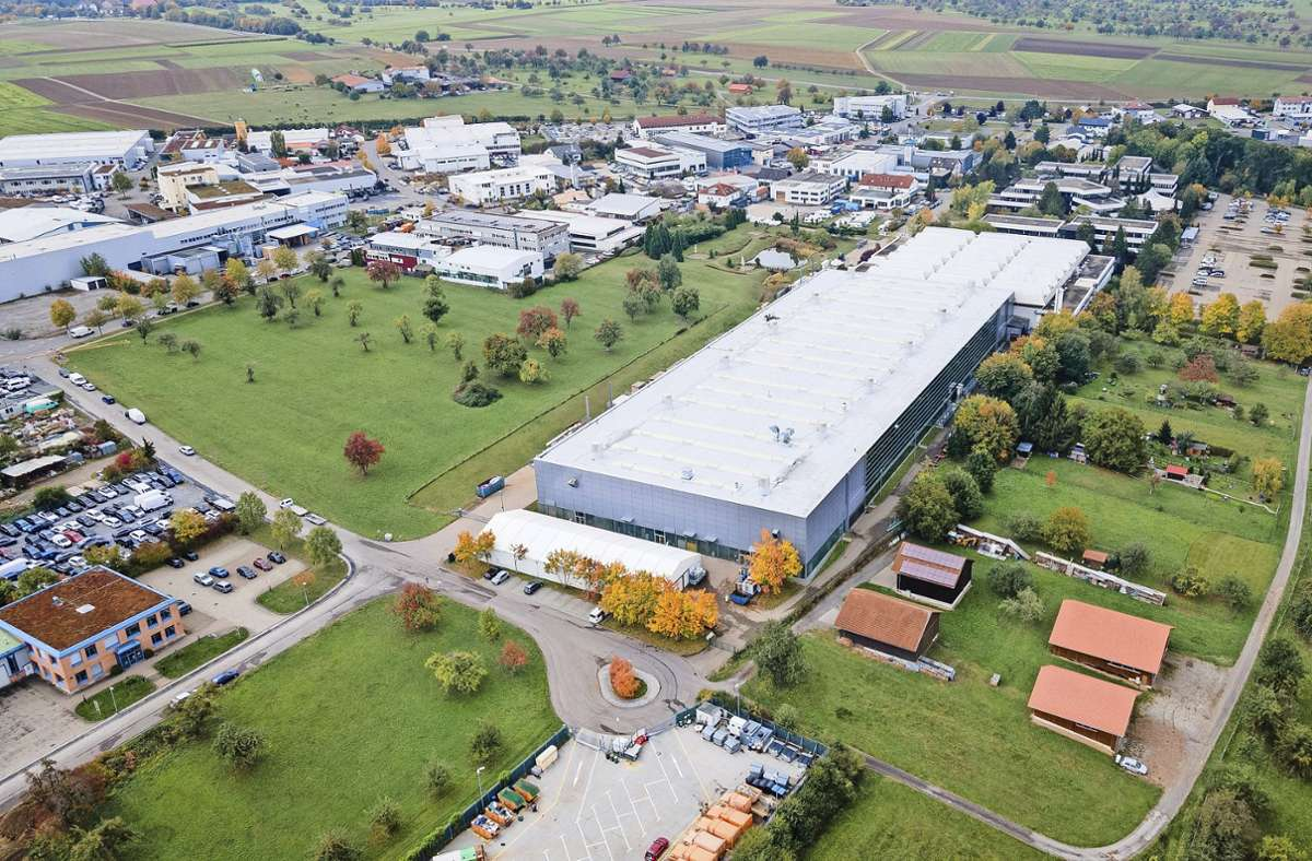 An einem Stück veräußert: das Eisenmann-Areal im Holzgerlinger Industriegebiet Foto: Archiv/Stefanie Schlecht