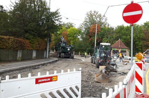 Lange Bauarbeiten: Anwohner verlieren die Geduld