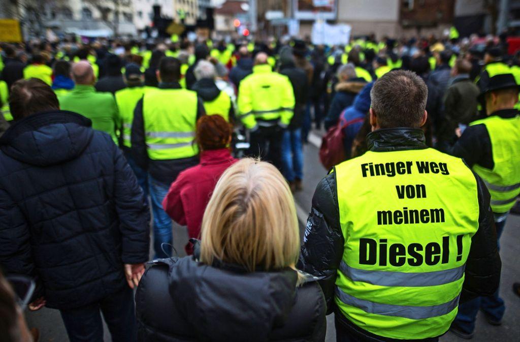 Der Widerstand hält an: Wie geht es mit den Diesel-Fahrverboten weiter? Foto: dpa