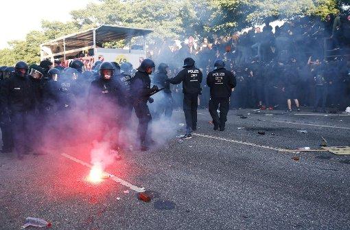 Schwere Ausschreitungen bei Protesten gegen G20-Gipfel