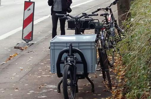 Stadt setzt Fahrrad als mobilen Blitzer ein
