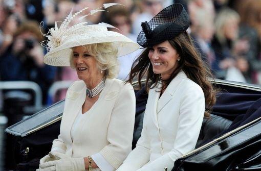 Camilla erhofft Baby von William und Kate bis Ende der Woche
