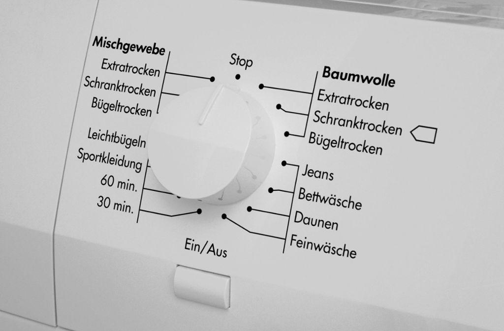 Unbekannte haben in Stuttgart-Nord einen Wäschetrockner gestohlen (Symbolbild). Foto: imago/Steinach/imago stock&people