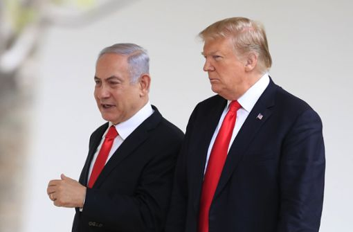 Trump erkennt Israels Souveränität formell an
