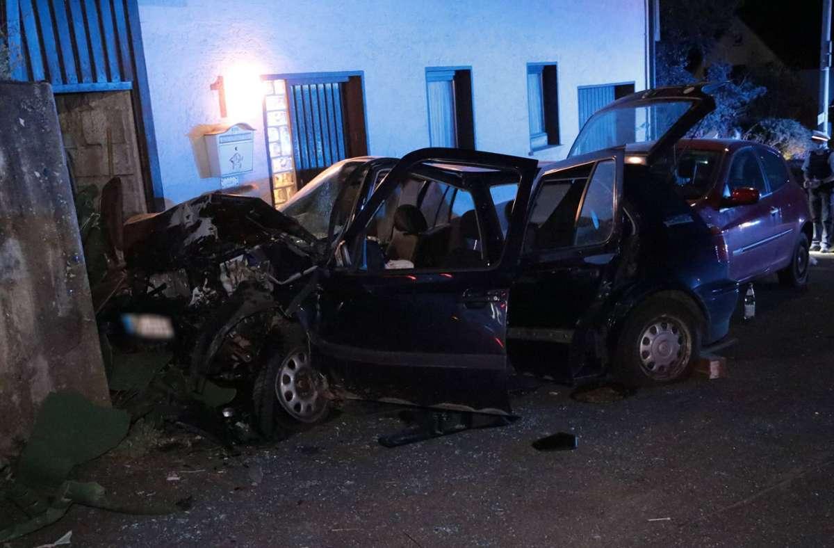 Ein 19-Jähriger hat in der Nacht zum Samstag einen Unfall verursacht. Foto: 7aktuell.de/Kevin Müller